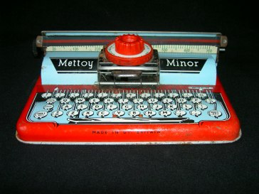 Vintage Typewriter Toy