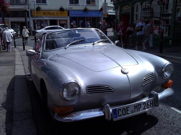 Silver Karmann Ghia