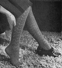Lace Stocking Pattern