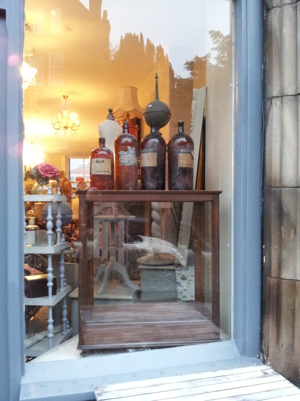The Vintage Rooms, window display