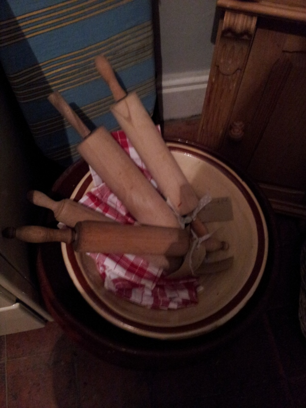A Bowlful of Rolling Pins