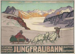 Dog Sledding in 1914