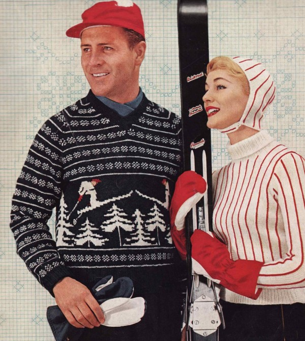 VIntage Sweater Pattern