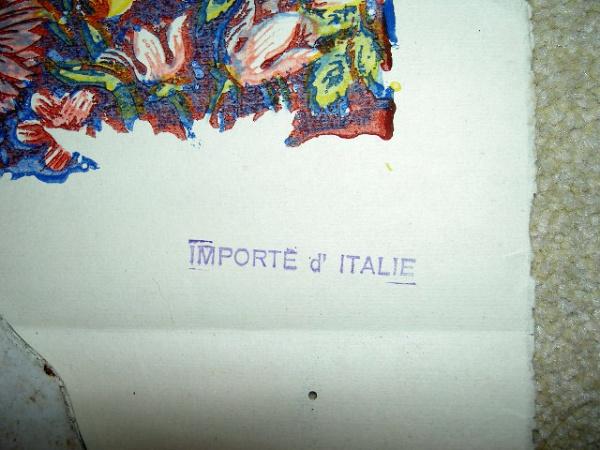 Italian Export Stamp