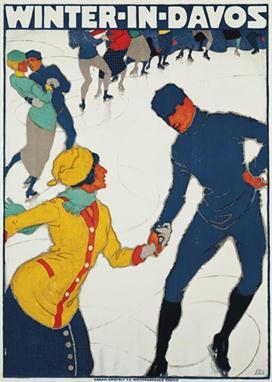 Winter in Davos 1914