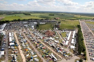 The view of the fair from above (from the Fair's website)