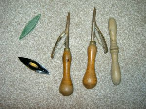 Tatting and Rugmaking Tools