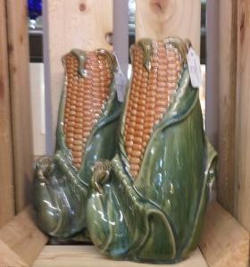 Corn cob vases