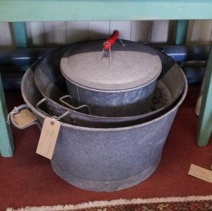 Tin tubs