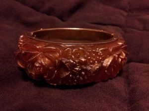 Gilded Flower Bangle