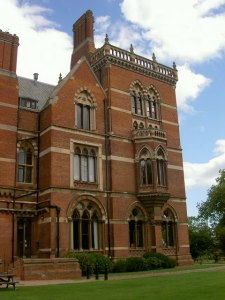 Kelham Hall, side view