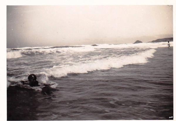 Vintage surfer photo offered on Ebay