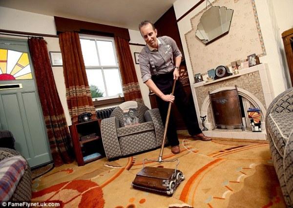 Ben Samsun in his 40s Living Room
