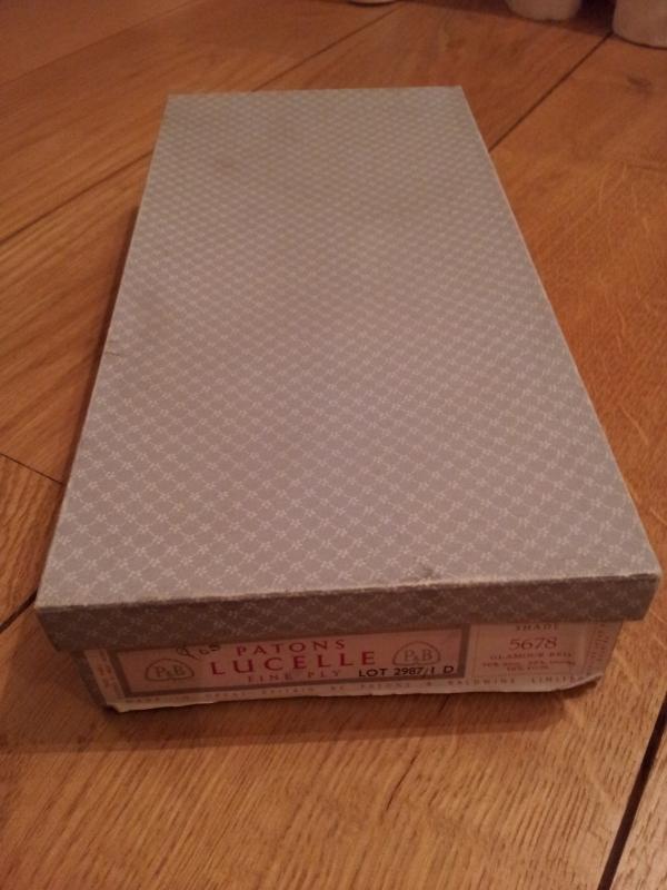 Vintage wool box