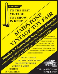 Vintage Toy Fair Poster