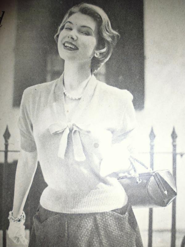 Close-up of the original jumper