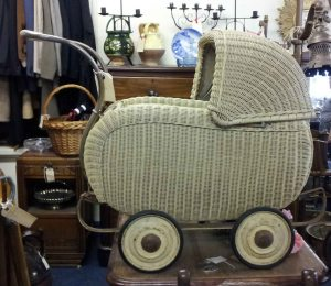 Basketware Pram