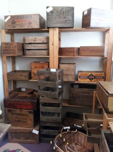 Vintage Packing Boxes